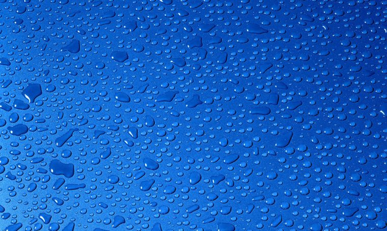 Water drops example