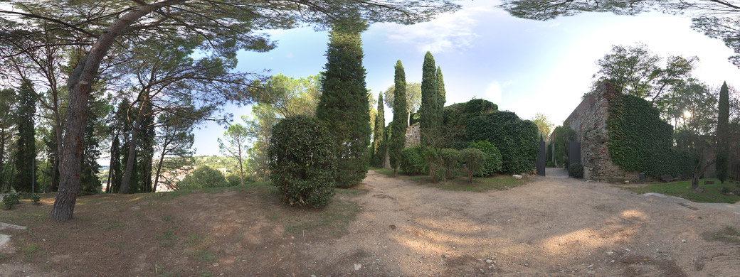 HDRi 003 - Landscape with trees + Backplates